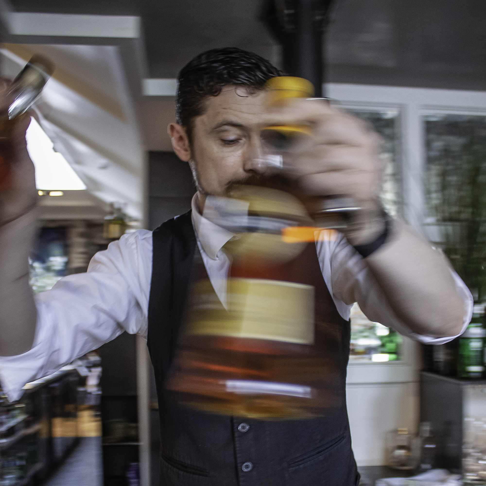 Head Bartender Ivan Kordic